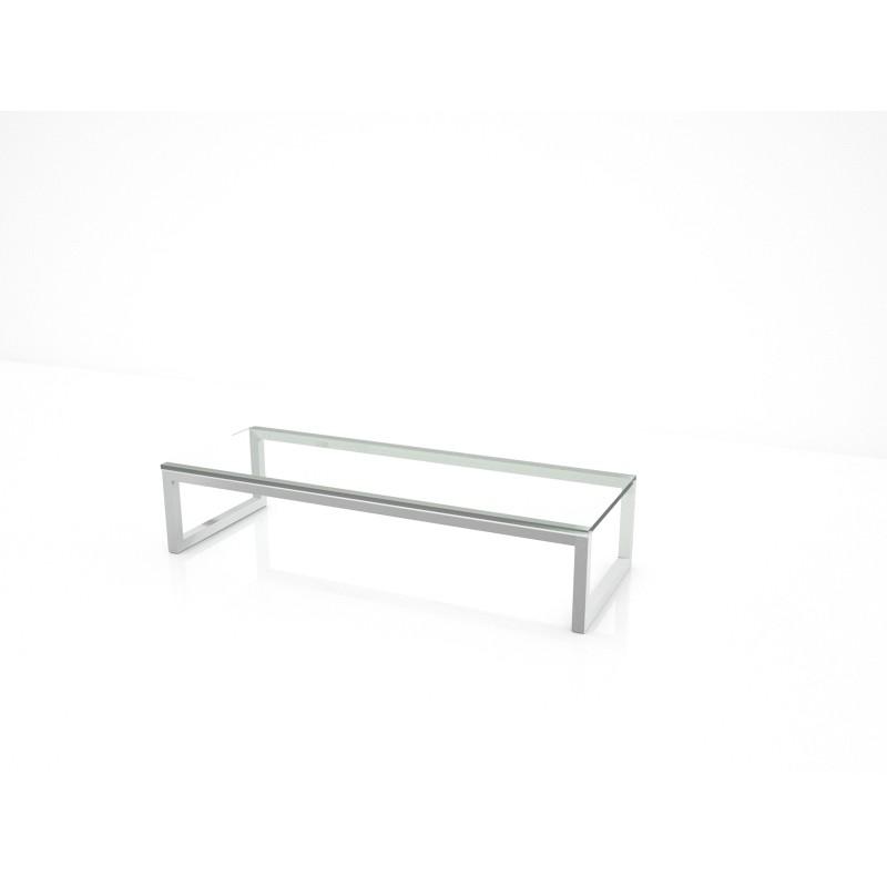 moderní konferenční stolek na míru sklo