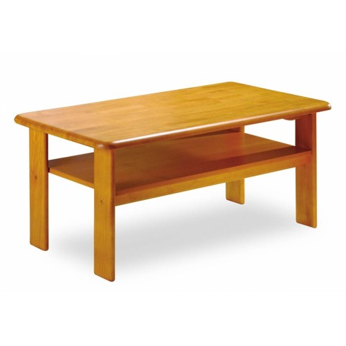 Prodloužený konferenční stolek z masivu obélník