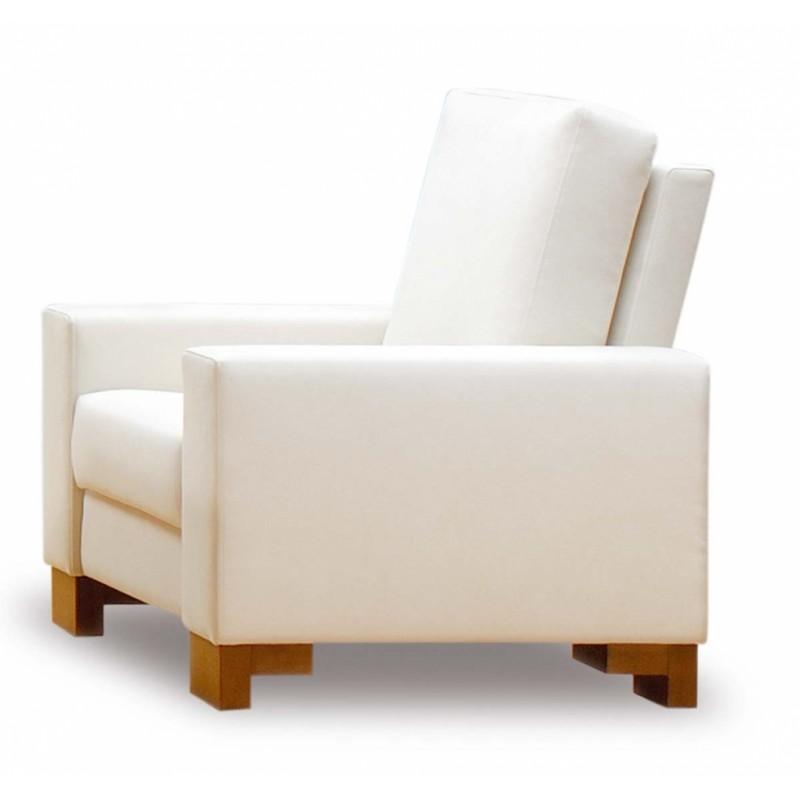 Designové moderní křeslo k sedačce Donna s ostrými tvary
