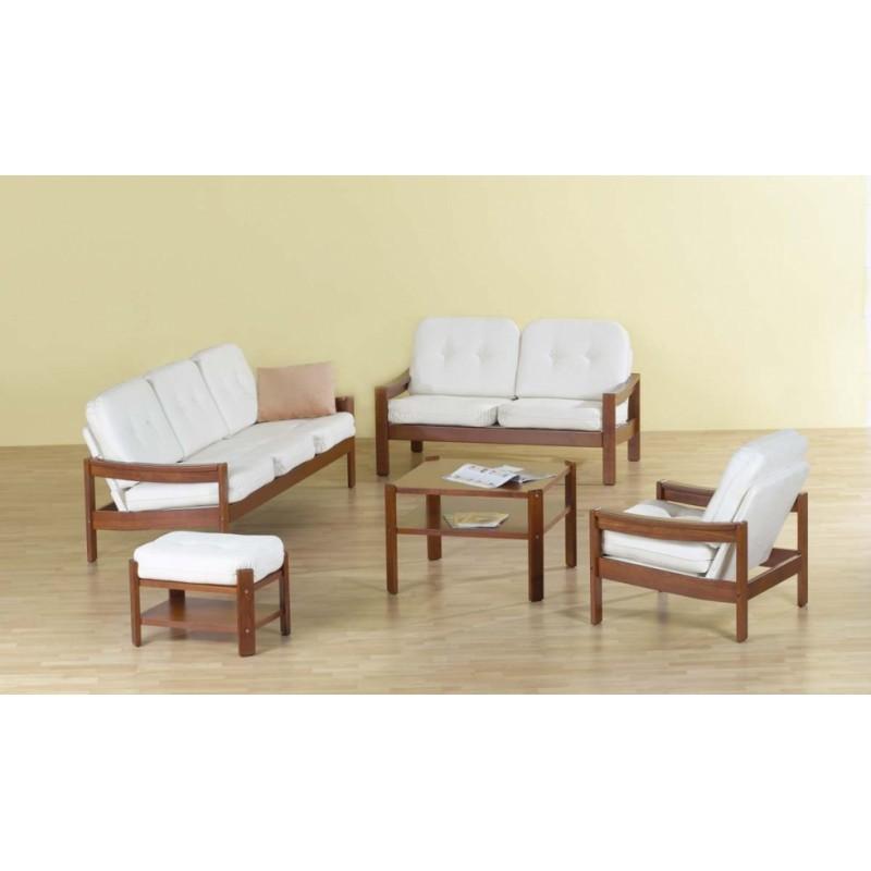 Dlouhodobě oblíbená sedačka z kůže LEDA LUX