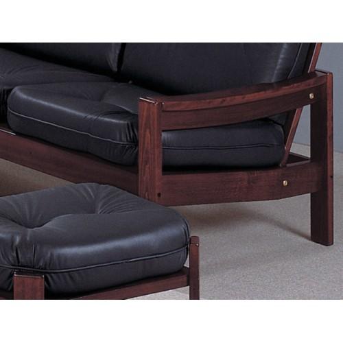 Detail dřeva sedací souprava na míru Leda Grand