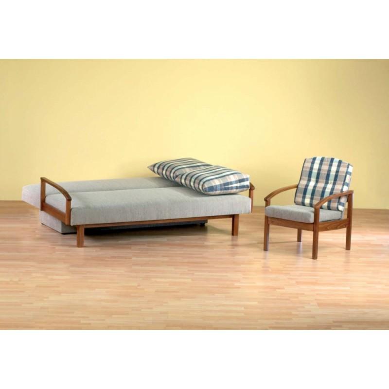 S rozkládací válendou Klasik se vyspíte všude, pohovka má veliký úložný prostor