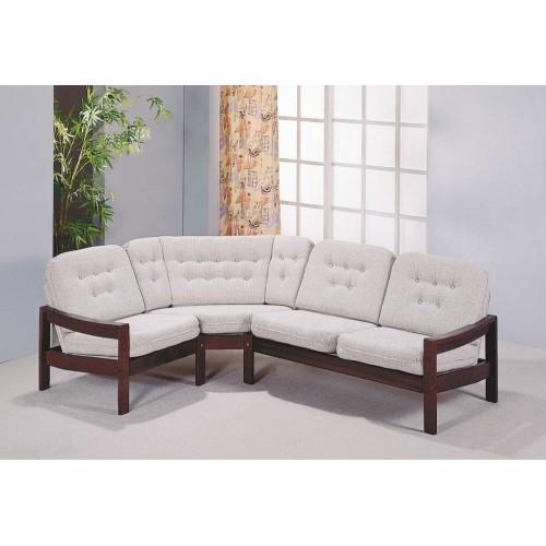 Rohová kožená sedačka dlouhodobě oblíbená Leda Lux